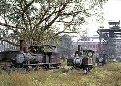 Hathua Sugar Mill (Kingmoor Klickr) Tags: gordonedgar hathua sugar mill india bihar mersey baldwin 45386 industry industrialrailway