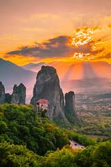 God's light (Vagelis Pikoulas) Tags: sun sunset rays view landscape nature meteora kalabaka kalampaka greece europe travel october autumn 2019 tokina 2470mm canon 6d