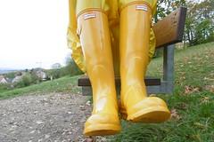 Hunter wellies (lulax40) Tags: gummistiefel gummi gummimann gummikleidung gummiregenkleidung rubber rainwear rubberboots farmerrain pvc abeko hunter hunterboots hunters