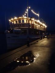 SUNNAN II (evisdotter) Tags: mssunnanii restaurangfartyg cruise ship sooc evening light reflections jetty sjökvarteret mariehamn