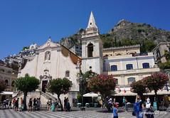 De San Giuseppe kerk   Taormina  Sicilié (ditmaliepaard) Tags: sangiuseppekerk taormina sicilié kerk church