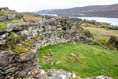 Broch 13 (allybeag) Tags: broch lochbroom rhiroy ancientmonument scotland drystone walls views