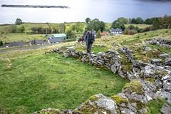 Broch 14 with Steve & Kiri (allybeag) Tags: broch lochbroom rhiroy ancientmonument scotland drystone walls views steve