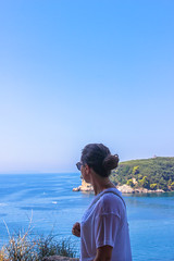 Summer break (MalinaIoP) Tags: canon eos 600d greece parga sea ionian fortress sky blue summer