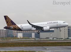 F-WWBG AIRBUS A320 NEO Vistara (@Eurospot) Tags: airbus a320 neo toulouse blagnac fwwbg vttnp 9203 vistara