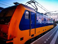 NSR 186 028 als IC trein @ Eindhoven Station (Avinash Chotkan) Tags: akiem br186 traxx bombardier ns