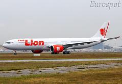 HS-LAK Airbus A330 Neo Thai Lion, delivery flight (@Eurospot) Tags: hslak airbus a330 neo a330900 1933 thailionair toulouse blagnac