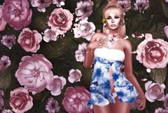 ❤ Cerise Blossom (Aziza Style) Tags: {zoz} avaway alaskametro aviglam changedseasons foxcity foxwood glamaffair hashtagevent izzies lelutka secondlife truth veechi