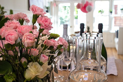 Beverages (marylea) Tags: oct19 2019 babyshower california party carnations proseco champagne mimosas sananselmo shower baby anticipation happy joy mystery newlife