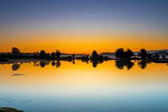 Fish Rising (nicklucas2) Tags: landscape newforest nature andrewsmare sunrise mist pond water