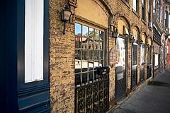 Main Street in Carlisle, Kentucky (durand clark) Tags: ruralkentucky kentucky carlislekentucky nicholascountykentucky bluegrassareakentucky nikonz6mirrorless nikon2470f4s reflections brick facade