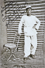 Souvenir... à mon cher Ami Pierre... in salah le 16 mai 1925... Collection Reynald ARTAUD (Reynald ARTAUD) Tags: 1925 maghreb militaire ami pierre salah souvenir collection reynald artaud