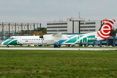 SP-EQE (PlanePixNase) Tags: aircraft airport planespotting haj eddv hannover langenhagen dash8 dh4 dehavilland lot eurolot