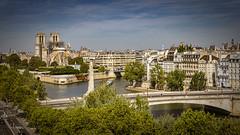 Paris Pont de la Tournelle, Notre Dames, Wiederaufbau, 2. Tag (nbrausse) Tags: 2tag 201908 france frankreich paris pontdelatournelle notredames wiederaufbau