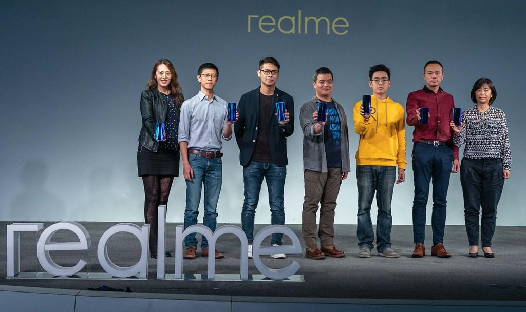 圖說:realme四鏡頭猛獸系列將於10月25日起陸續開賣