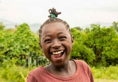 Hamar Girl (Rod Waddington) Tags: africa african afrique afrika äthiopien ethiopia ethiopian ethnic ethnicity etiopia ethiopie etiopian outdoor omovalley omo omoriver outdoors hamar hamer tribe traditional tribal trees girl culture cultural child candid smile landscape