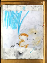 work in progress... (ersi marina) Tags: art painting watercolor watercolour collage oilpastels mixedmediaart abstractart abstractpainting abstractmixedmedia abstractcollage contemporaryart contemporaryabstract expressionism abstractexpressionism marks markmaking saunderswaterford artonpaper wip workinprogress