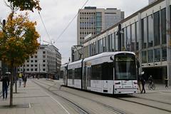 262, Willy Brandt Platz, Frankfurt, October 28th 2017 (Southsea_Matt) Tags: 262 route12 stype vgf tram metro lightrail willybrandtplatz frankfurt germany october 2017 autumn canon 80d transport vehicle railway railroad