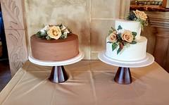 IMG_6270 (backhomebakerytx) Tags: backhomebakery back home bakery wedding bride brides groom grooms two tier smooth pretty cake cakes