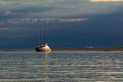OVNI / UFO (dbrothier) Tags: calvi corse france canonef50mmf14usm eos6d canon6d corsica kalliste flickrcorsicaflickrcorse lr boat bateau voilier sailingship ovni ufo hss nwn