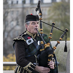 Piper in Edinburgh
