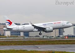 F-WWDF Airbus A320 Neo China Eastern (@Eurospot) Tags: airbus a320 neo toulouse blagnac fwwdf b30ax 9320 chinaeastern