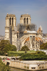Paris Notre Dames, Wiederaufbau, 2. Tag (nbrausse) Tags: 2tag 201908 france frankreich paris notredames wiederaufbau