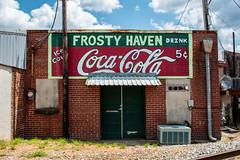 Frosty Haven (Todd Evans) Tags: nikon d5600 frostyhaven bremen georgia ga cocacola sign backdoor