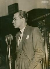 Josué de Castro em conferência no Palácio Tiradentes, julho de 1940 (Arquivo Nacional do Brasil) Tags: josuédecastro arquivonacional arquivonacionaldobrasil nationalarchivesofbrazil nationalarchives geografia