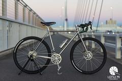 HORIZONTAL FLAME BIKE (Lotus Mi) Tags: bike disk roadbike 650b α7ⅱ sony ilce7m2 horizontal