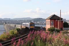 Photo of Dundee: Tay Rail Bridge mit dem Stellwerk