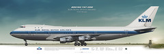Boeing 747-200 KLM Royal Dutch Airlines (rulexy) Tags: posterjetavia aviation airliner airline airtransport airplane jetliner aviationlovers aviationfans avgeek airside aviationart instagramaviation civilaviation aircraftillustration