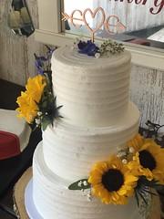 IMG_7461 (backhomebakerytx) Tags: backhomebakery back home bakery wedding cake bride brides three tier ribbon texture