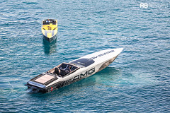 Marauder 50 AMG GTS - 15,76m - Cigarette Racing & 515 AMG Project One - 15,69m - Cigarette Racing (Raphaël Belly Photography) Tags: rb raphaël raphael belly photographie photography yacht boat bateau superyacht my yachts ship ships vessel vessels sea motor mer m meters meter marauder 50 amg gts 15m 15 16m 16 cigarette racing noir nero nera black yellow jaune giallo 515 project one grey gris grise silver noire