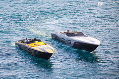 Marauder 50 AMG GTS - 15,76m - Cigarette Racing & 515 AMG Project One - 15,69m - Cigarette Racing (Raphaël Belly Photography) Tags: rb photographie belly raphael raphaël photography boat yacht bateau superyacht sea ship ships vessel yachts vessels my mer m motor meter meters marauder 15 50 amg gts 15m 16m noir cigarette racing 16 nero nera black yellow jaune project giallo 515 silver grey gris one noire grise