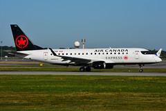 C-FRQP (Air Canada EXPRESS - Sky Regional) (Steelhead 2010) Tags: aircanada aircanadaexpress skyregional embraer emb175 yul creg cfrqp