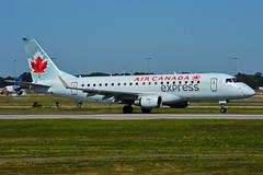 C-FXJF (Air Canada EXPRESS - SkyRegional) (Steelhead 2010) Tags: aircanada aircanadaexpress skyregional embraer emb175 yul creg cfxjf