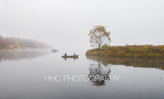 Gone Fishing (HelenC2008) Tags: allegany alleganystatepark quakerrun quakerlake fall foliage fog foggy mist morningmist nikon d850 hhcphotography