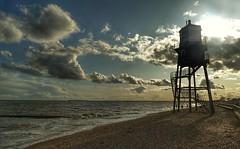 The old Lighthouse (Westhamwolf) Tags: lighthouse beach sea sky clouds dovercourt harwich essex england seaside
