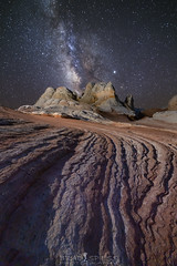 A Path to the Stars (ihikesandiego) Tags: vermilion cliffs national monument white pocket northern arizona milky way