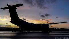 C-GGMU Air Canada Express De Havilland Dash 8-400@YYJ 20Oct19 (Spotter Brandon) Tags: northsaanich britishcolumbia canada yyj cyyj victoria aircanada aircanadaexpress bombardier dehavilland dash8 q400 dash8400 sunset