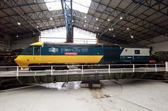 43002 York RM 22.10.2019 (Dan-Piercy) Tags: gwr hst powercar 43002 york railwaymuseum