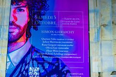 18-L'affiche du concert (Alain COSTE) Tags: paris france institutdefrance concertbaroque