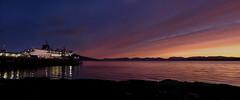 Ferry at Dawn (Andy Hemper) Tags: mull scotland isleofmull ferry terminal alba transport sky sea water boat roro cloud sun sunrise beach landscape uk country countryside seascape pier