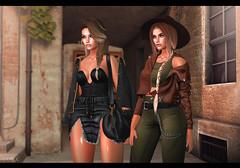 Last times of October ♥ (Yaska Resident) Tags: ddl glamaffair glamaffairnews glamaffairskin lelutka foxy runaway minimal kustom9
