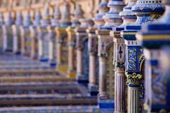 Plaza de España (tom.leuzi) Tags: andalucía andalusia andalusien canonef70200mmf4lisusm canoneos6d dof españa spain spanien blurred bokeh telezoom plazadeespaña sevilla