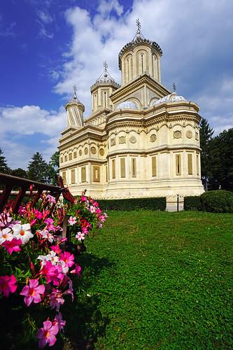 Monastery of Curtea de Argeș, Romania