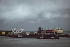 Petroleumhaven, Port of Rotterdam (sharpileville) Tags: merchantnavy shipping oilindustry oil harbor port navigation navigator pilotage pilot dutchpilots marinetraffic tankership tankervessel tanker netherlands rotterdam portofrotterdam