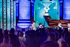14-Le quatuor Yako et Simon Ghraichy piano (Alain COSTE) Tags: paris france institutdefrance concertbaroque