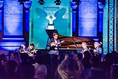 12-Le quatuor Yako et Julien Martineau à la mandoline (Alain COSTE) Tags: paris france institutdefrance concertbaroque